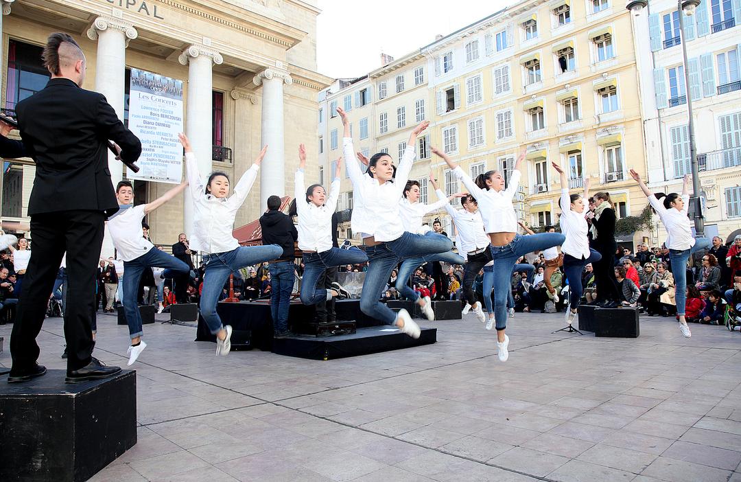 Orfeo Express - Parvis de l'Opéra - Mars en Baroque 2017
